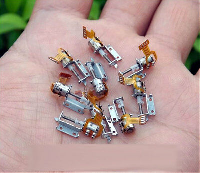 10pcs Micro Screw Stepper Motors Miniature 2-phase 4-wire stepping motor driver