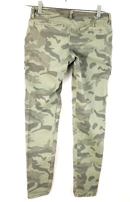 OLD NAVY Womens 2P PETITE Camo Skinny Jeans Comfort Stretch Street Army cc2