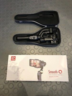 Zhiyun Smooth-Q 3-axis Handheld Gimbal Stabilizer for Phones (Mint Condition)