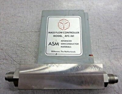 Advanced Semiconductor Materials [ASM] AFC-261 Mass Flow Controller (10SLM, N2O)
