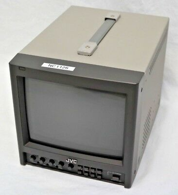 """JVC TM-910SU 9"""" CRT Color Video Monitor 