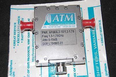 Advanced Tech Materials AF083L2-10/1.3-1.75 Attenuator (1.3-1.75GHz,0-10dB)