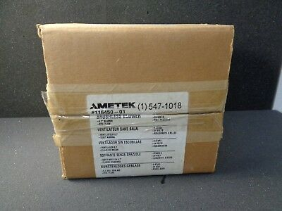 116450-01 Ametek Rotron Windjammer 547-1018 Brushless Blower 24Vdc
