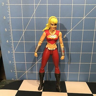 """Wonder Girl Contemporary Teen Titans Series DC Direct Loose 7"""""""