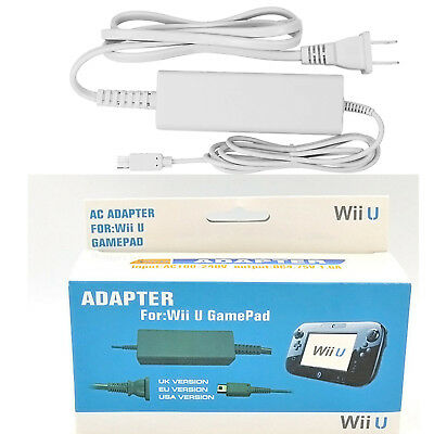 For Nintendo Wii U Gamepad Charger AC Adapter Power Supply Adapter Charge Cable