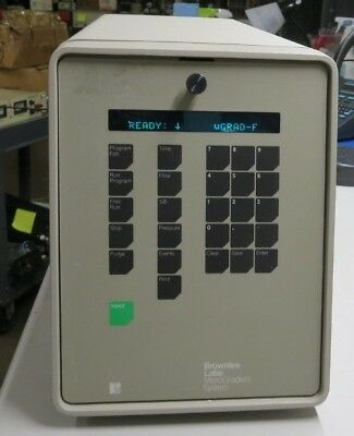 Brownlee Labs, No Part Nbr, Micro Gradient System, With RS232C 25 Pin Connector