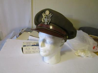 WW2 Army Officers Visor Size 7 1/2