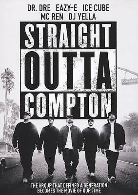 Straight Outta Compton (DVD, 2016) New, Sealed