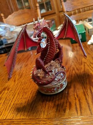 Youngblood The Guardian, Dragon Sculpture, Treasure Dragons Collection Hamilton
