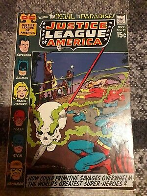 Justice League Of America #84 Fine Unstamped Copy