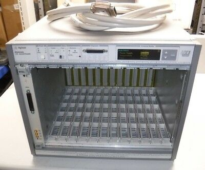 Agilent E8404A VXI Mainframe With National Instruments VXI-MXI-2 Card with Cable