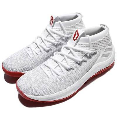 new concept 536ac 925b4 adidas DAME 4 Rose City Basketball Shoes - CQ0471 - White  Red -