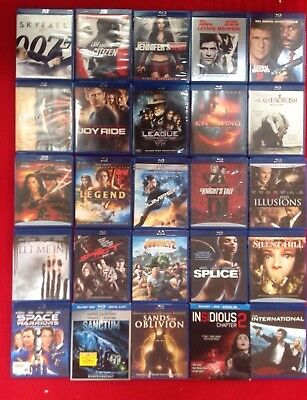 Choose any movie for $3.50 each. Blockbuster Blu-Ray Movies 300 different titles