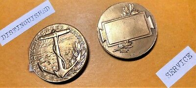 (2) WW1 Distinguished Service medals