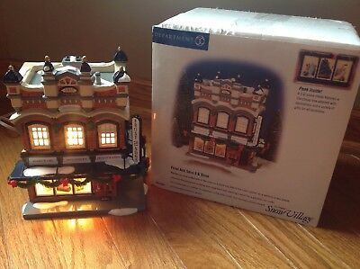 Dept 56 Snow Village Frost And Sons 5 & Dime #55047 Lighted Interior 3D