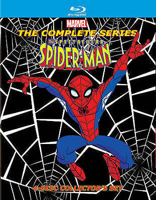 The Spectacular Spider-Man: The Complete Series (Blu-ray Disc, 2014, 4-Disc Set)