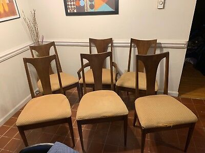 Mid century modern Broyhill dining chairs