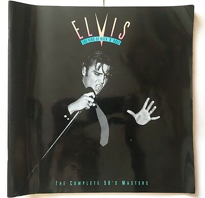 Elvis The complete 50s masters (Book with stamps only)