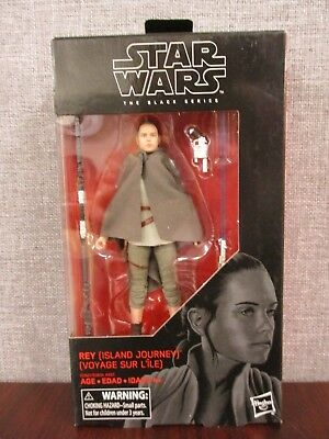 Hasbro Star Wars The Black Series Rey Island Journey 6-Inch Figure NEW