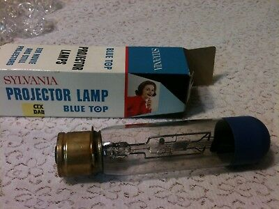 New Sylvania Blue Top Projector Lamp Bulb CZX DAB 500W120V 25 hrs
