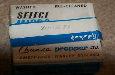 Vintage Select Micro Slides 76 x 26mm by 1 / 1.2mm thick Smethwick Warley