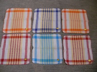 LOT of 6 Vintage Kitchen Dish Cloths Rags NWT