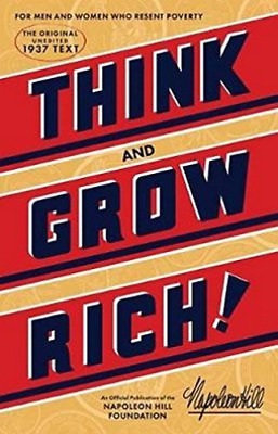 Hill Napoleon-Think And Grow Rich BOOK NUOVO