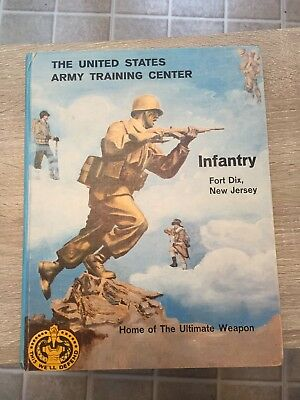 1964 Year Book / Infantry / Fort Dix New Jersey / Us Army Training Center