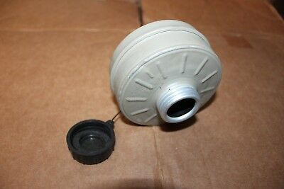 Damaged Non Functional Military Israeli NATO NBC 40mm Gas Mask Filter Prop Decor