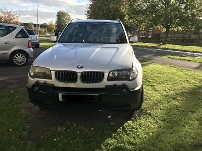 BMW X3 2005 3.0i auto 87k silver faultless drive fully loaded