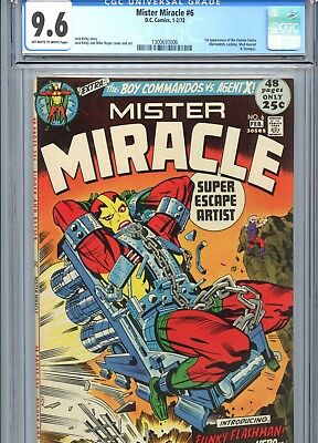 Mister Miracle #6 CGC 9.6 OW-White Pages 1st Female Furies DC Comics 1972