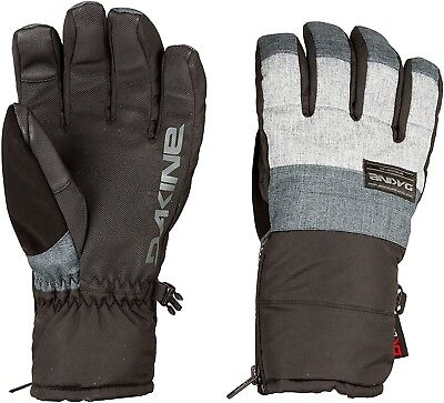 (Small, Heather Carbon) - DaKine Men's Omega Gloves. Free Shipping