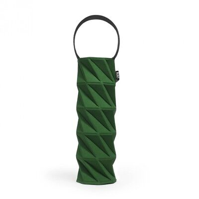 (Green) - BUILT NY Origami Wine Tote, Green. Free Delivery