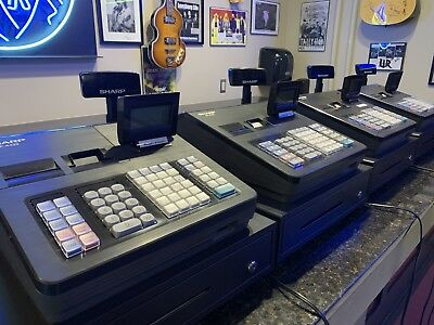 Sharp Electronic Cash registers Model XE-A43S - Good Condition !!