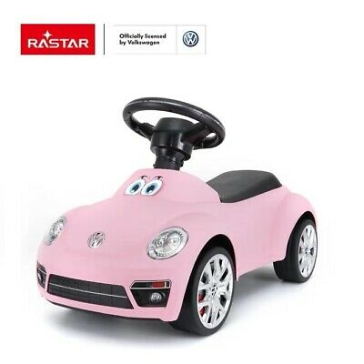Volkwagen Beetle Licenced Ride On Foot To Floor First Car Baby Toddler Toy