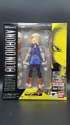 Bandai SH Figuarts Tamashii Nations Android #18 - US Seller