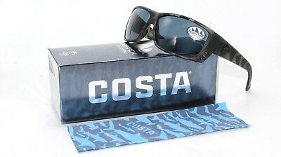 9eca5df0ae Costa Del Mar Ocearch Cat Cay Men Sunglasses Tiger Shark   Gray 580P  Polarized