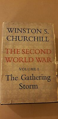 Winston Churchill Thd Second World War Vol I The Gathering Storm 1949 HB D/J