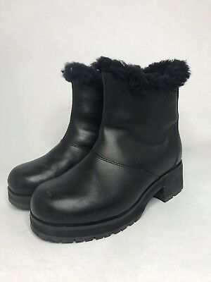 847452c498a UGG WOMEN'S BLAYRE III Waterproof Leather Boots 1095153 Black Size 8 ...