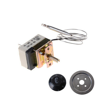 AC 220V 16A Thermostat Temperature Control Switch for Electric Oven 50-300C X Ew