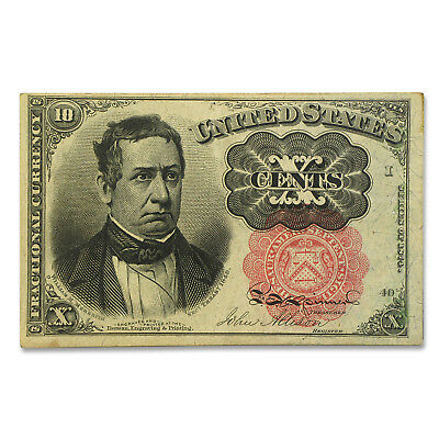 5th Issue Fractional Currency 10 Cents VF (FR#1265) - SKU #90129