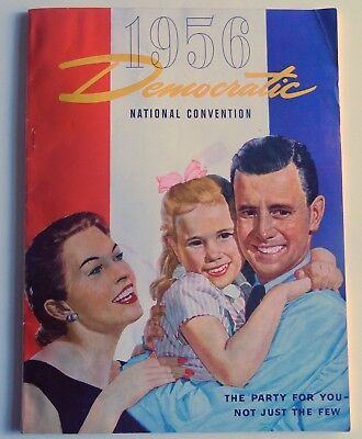1956 Democratic National Convention Program