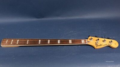 Circa 1975 Fender Converted Fretless Jazz Bass Neck Only Project