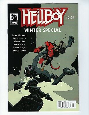 HELLBOY WINTER SPECIAL 2018 (Dark Horse, MIKE MIGNOLA, Dec 2018), NM NEW