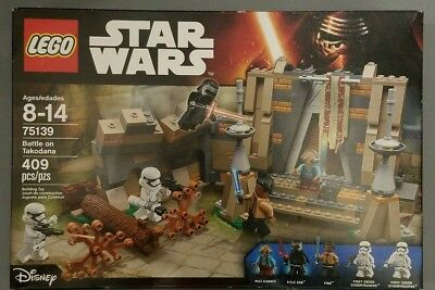 Lego star wars battle on takodana 75139 set new in box retired see photos