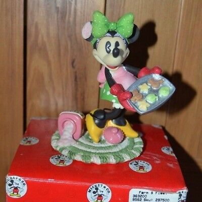Enesco Disney Sugar N Spice Makes Holidays Nice Classic Minnie Mouse Cookies