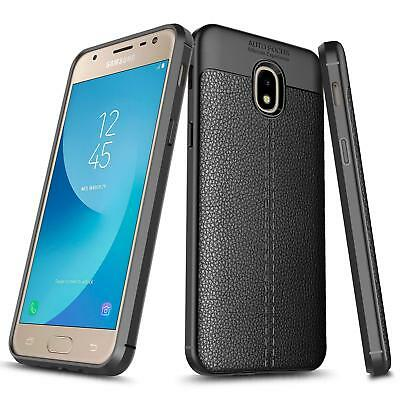Galaxy J7 2018 / Refine / Star / Top / J7V 2nd Case | TPU Leather Textured Cover