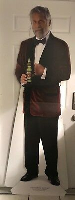 Dos Equis MOST INTERESTING MAN IN THE WORLD in tuxedo SIGN STAND UP NEW XX