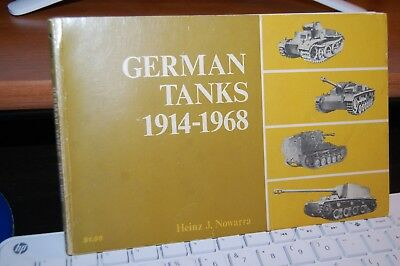 Book on WW2 German Tanks from 1914 - 1968