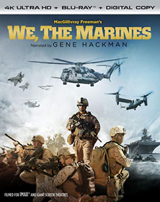 `HACKMAN,GENE`-WE THE MARINES (4K UHD/BLU-RAY/DIGITAL/WS/FF 1.78:1) Blu-Ray NEUF